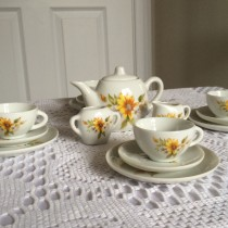 My first tea set as a child