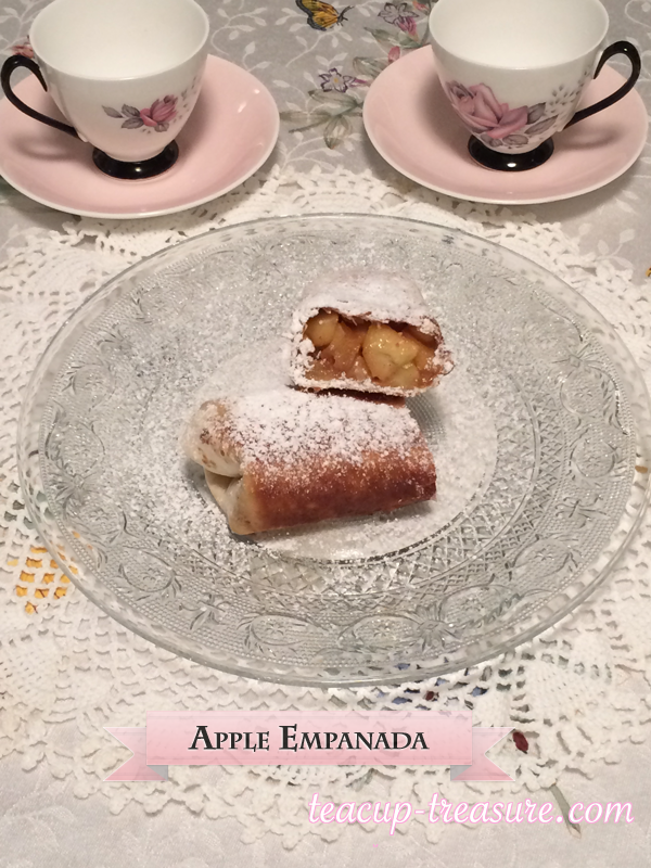 The recipe for a delicious Homemade Apple Empanada