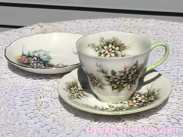 "Royal Albert - Orange Blossom and ""Brookfield"" Saucer"