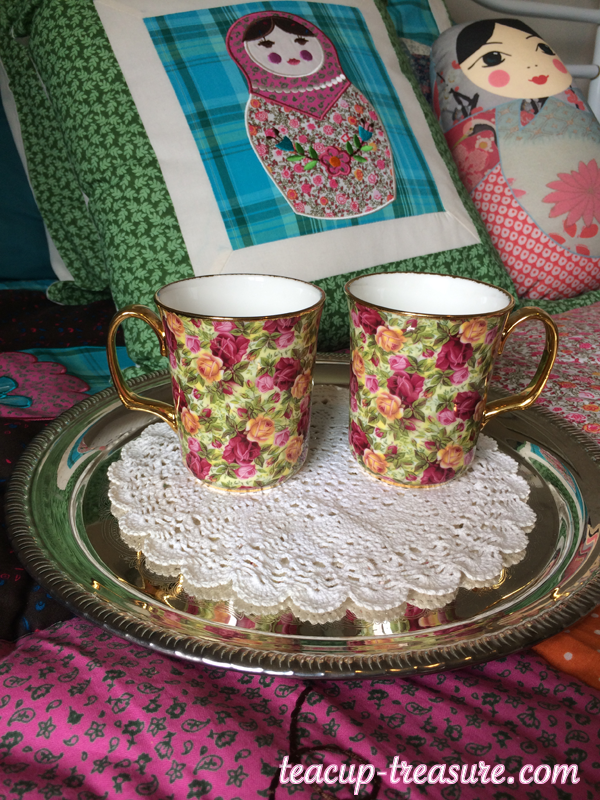 Chintz Mugs - Royal Albert, Chintz Collection, Old Country Roses