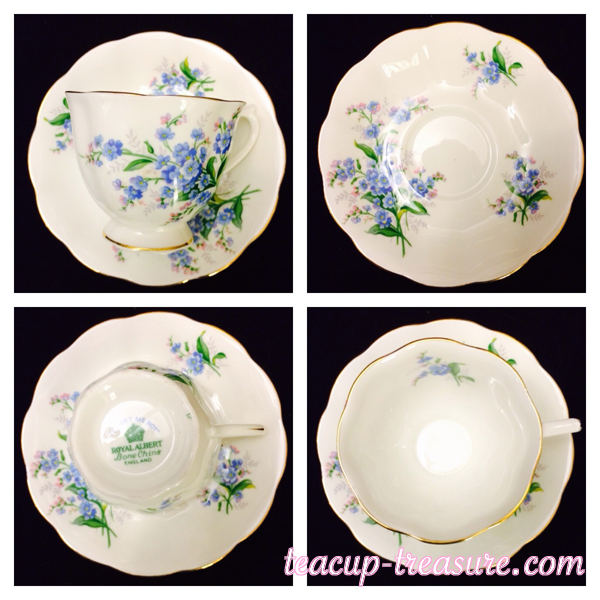 """Royal Albert - """"Forget me Not"""" - $18 USD"""