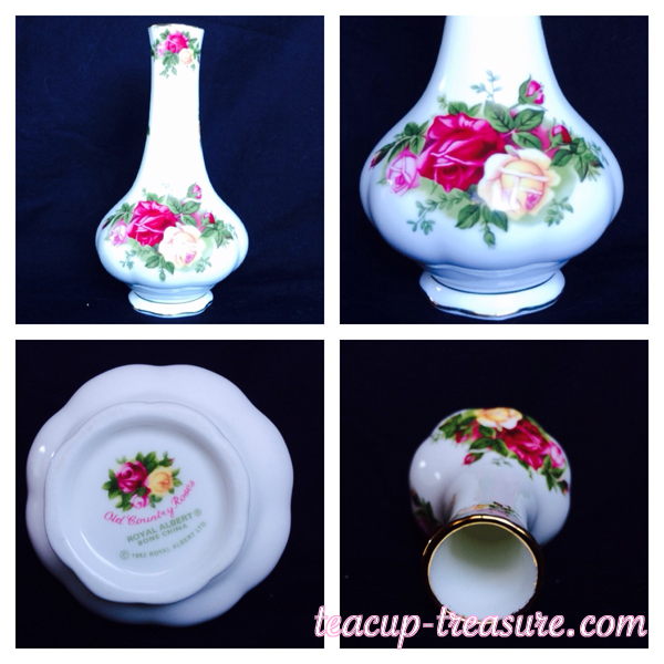 """Royal Albert - """"Old Country Roses"""" - Vase - $20 USD"""