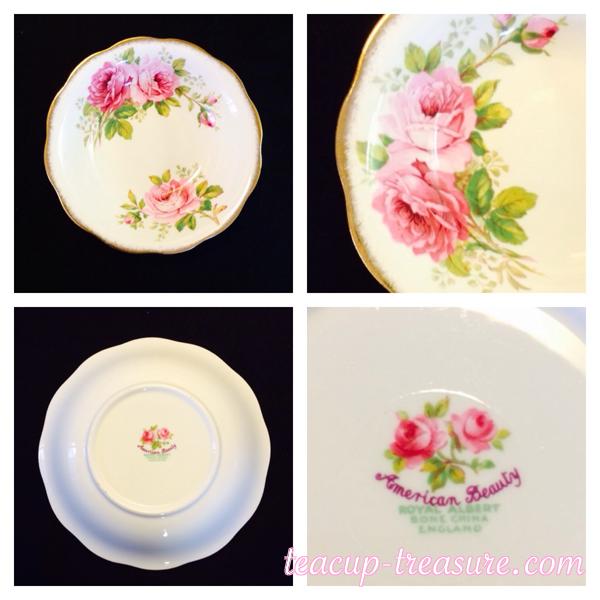 "Royal Albert - ""American Beauty"", Fruit/Dessert Dish - $8 USD"