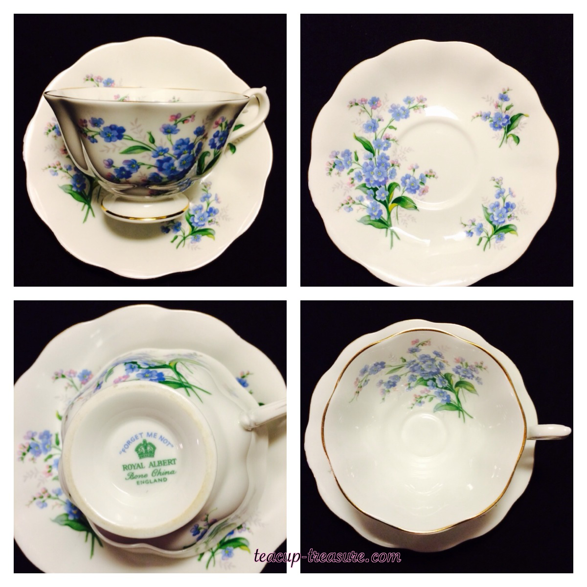 """Royal Albert - """"Forget Me Not"""" - $25 USD"""