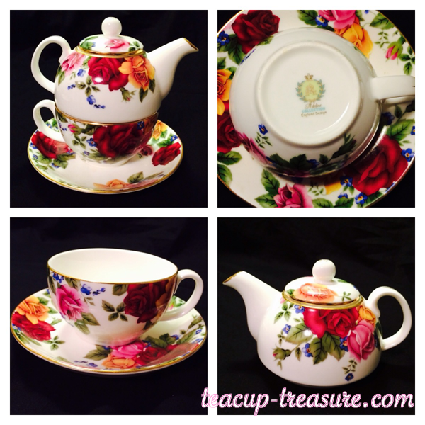 Adeline Collection - England Design - Tea for One - $30 USD