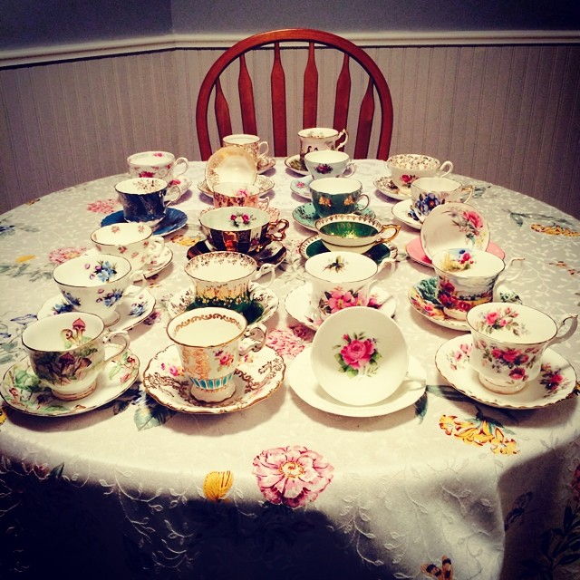 Lots of cups to go up this week. Excited for you all to see them! #teacups #teatime #royalalbert #foley #paragon #muchmore Catalogue will be updated this week at: teacup-treasure.com/catalogue