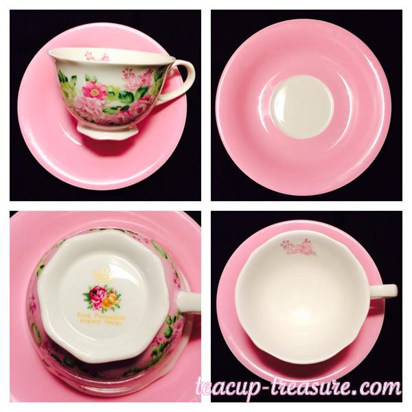 Fine Porcelain - England Design - Floral - $20 USD