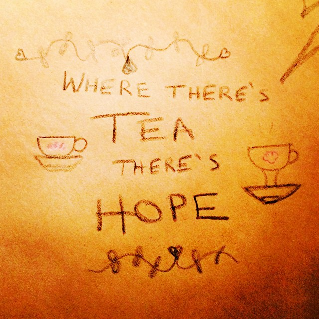 #tablecloth #teatime #quote