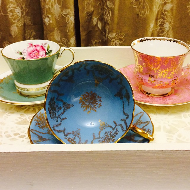 Upload tomorrow!!! DM or email if interested. More cups to come & many more at teacup-treasure.com/catalogue #teacup4sale #teacupforsale #vintage #aynsley #coalport #elizabethan