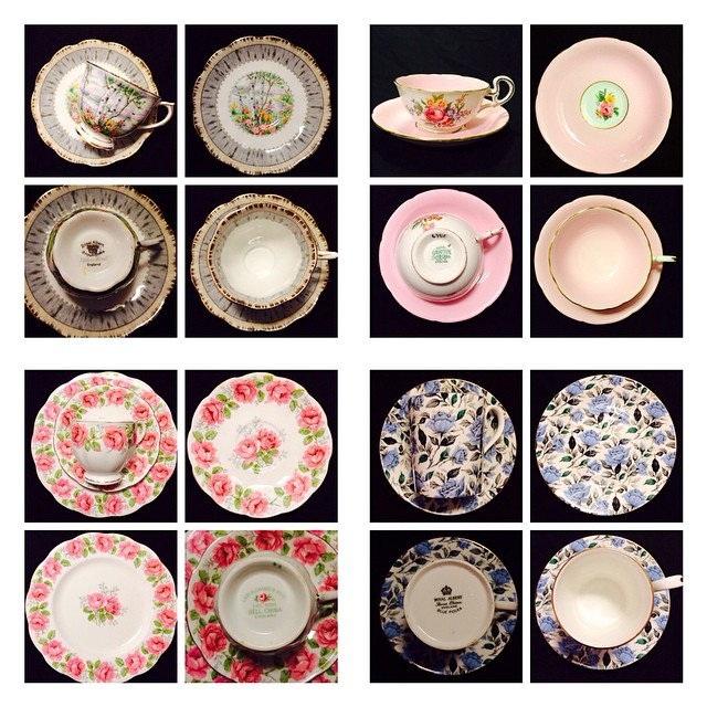 More cups uploading tonight!! Email if interested. More cups at teacup-treasure.com/catalogue #teacup4sale #teacupforsale #tea #teacup #teacups #teatime #vintage #royalalbert #royalgrafton #bellchina
