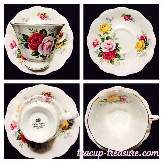 This is one of my favorite Royal Albert tea cups. It's such a rare & unusual ship. Email if interested. Ships Worldwide. Paypal accepted. More cups at http://teacup-treasure.com/catalogue #teacup4sale #teacupforsale #tea #teacup #teacups #teatime #vintage