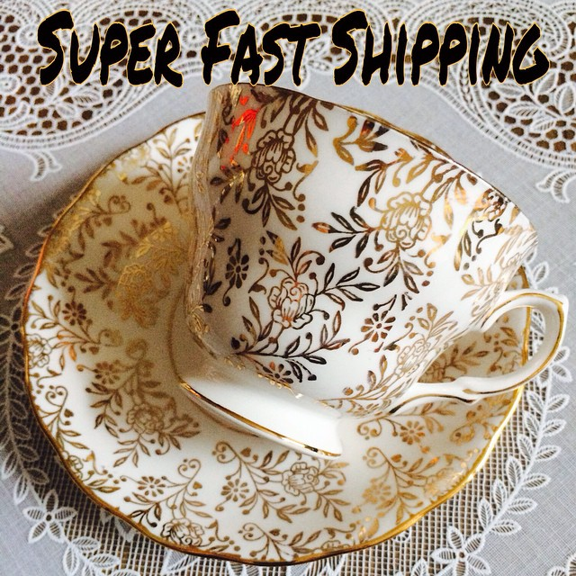 31 hours left to get in your orders & pay your balances. International orders placed will go out Saturday, during our special US trip! Delivery will take approx. 10 business days. This trip makes it possible to get you a much better rate for a much quicker & more reliable service. Email if interested. More cups at teacup-treasure.com/catalogue #teacup4sale #teacupforsale #tea #teacup #teacups #teatime #vintage