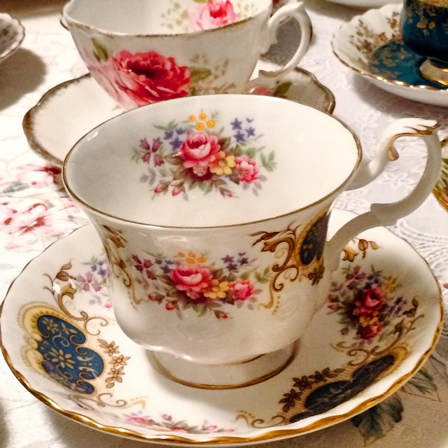Royal Albert is all decked out in Berkeley. Email if interested. Ships Worldwide. Paypal accepted. More cups at http://teacup-treasure.com/catalogue #teacup4sale #teacupforsale #tea #teacup #teacups #teatime #vintage