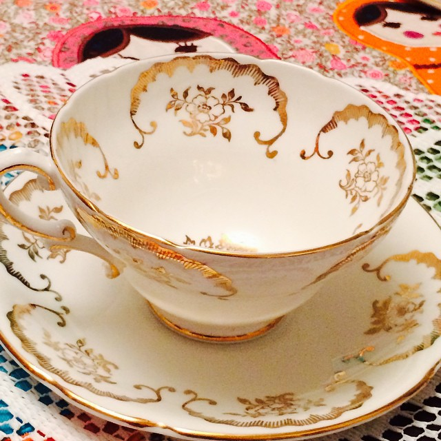 Stunning Staffordshire Stanley Bone China England. Email if interested. Ships Worldwide. Paypal accepted. More cups at http://teacup-treasure.com/catalogue #teacup4sale #teacupforsale #tea #teacup #teacups #teatime #vintage