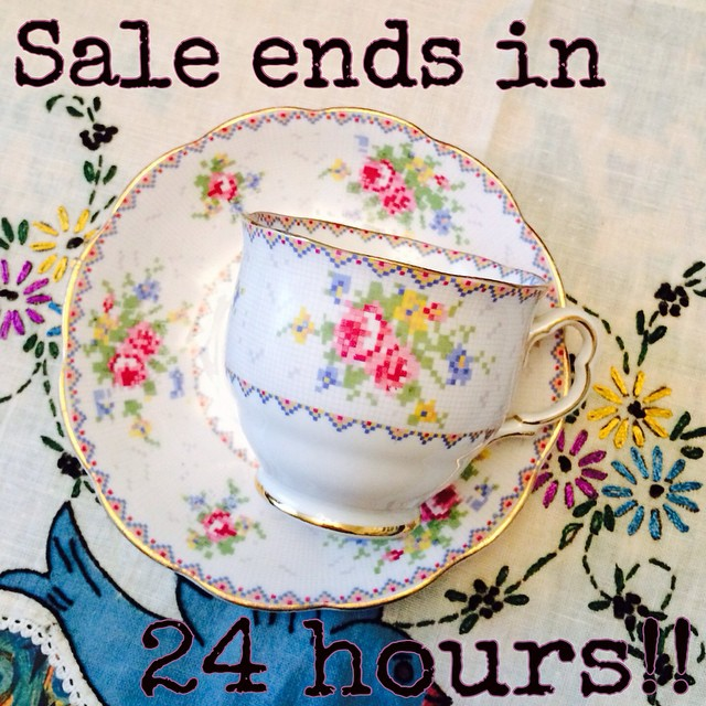 Request a quote & place your orders now. Big New Year Sale!! $13 USD cup & saucers as marked. Discounts on lots of misc items. 5% off orders of 5 or more cups. Email if interested. Ships Worldwide. Paypal accepted. More cups at http://teacup-treasure.com/catalogue #teacup4sale #teacupforsale #tea #teacup #teacups #teatime #vintage