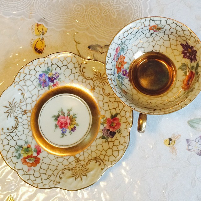 Gorgeous gold Winterling Bavaria Germany. Email if interested. Ships Worldwide. Paypal accepted. More cups at http://teacup-treasure.com/catalogue #teacup4sale #teacupforsale #tea #teacup #teacups #teatime #vintage