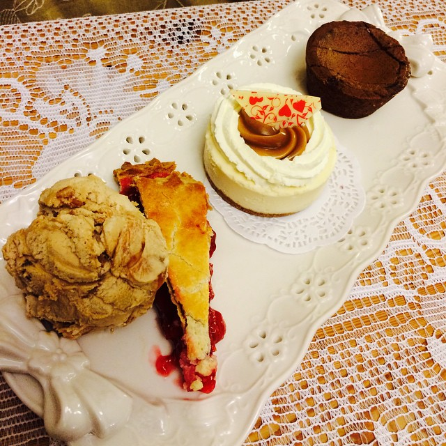 Celebrated my love of desserts this Valentine's Day. #happyvalentinesday