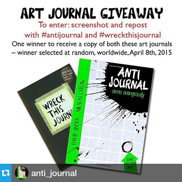 #Repost @anti_journal with @repostapp.・・・Final post. Final 24 hours. Good luck. #antijournal #wreckthisjournal